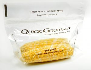 Quick Gourmet® Microwave Steam Bag for Quick & Healhty Meals
