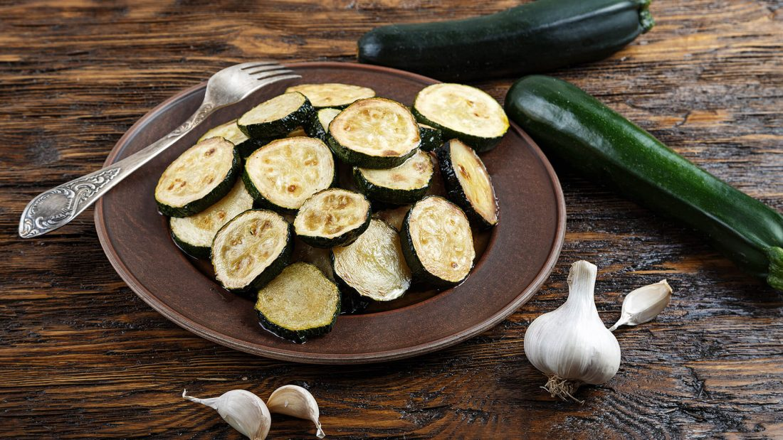 Microwave Zucchini Garlic Recipe Quick Gourmet® Steam Bag