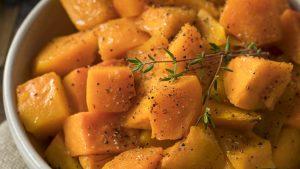 Microwave Butternut Squash Paprika & CuminRecipe Quick Gourmet® Steam Bag