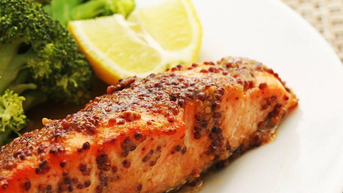 Microwave Salmon Spiced Mustard Sauce Recipe Quick Gourmet® Steam Bag
