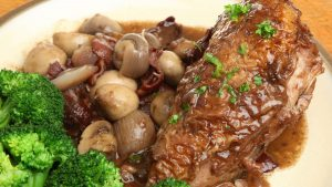Microwave Chicken Red Wine Sauce Recipe Quick Gourmet® Steam Bag