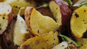 Microwave Potato Wedge Recipe Quick Gourmet® Steam Bag