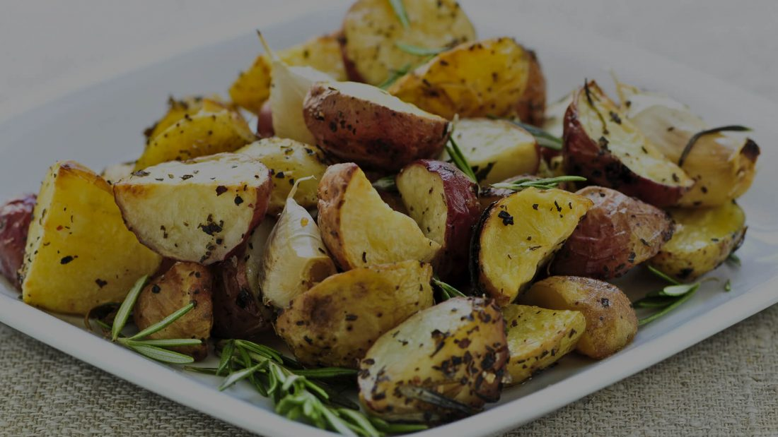 Steak Spiced Potatoes in 6 Minutes.