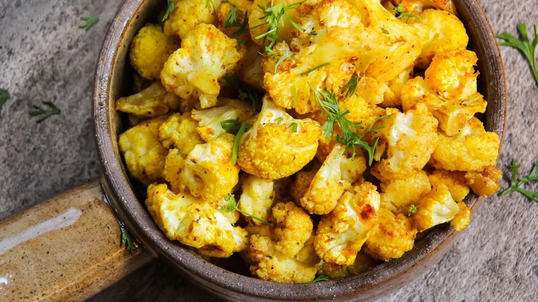 Microwave Cauliflower Curried Style Recipe Quick Gourmet® Steam Bag