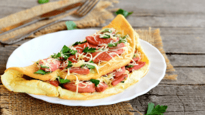 Quick Gourmet Steam Bags Quick Meals - Omelette