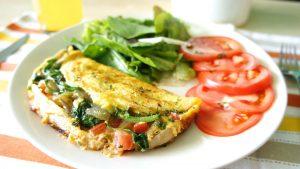 Microwave Vegetarian Omelette Recipe Quick Gourmet® Steam Bag