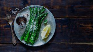 Microwave Asparagus Garlic Butter Quick Gourmet® Steam Bag