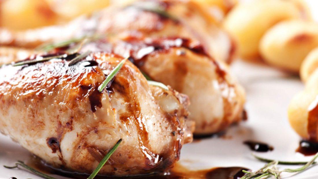Microwave Chicken Balsamic Recipe Quick Gourmet® Steam Bag
